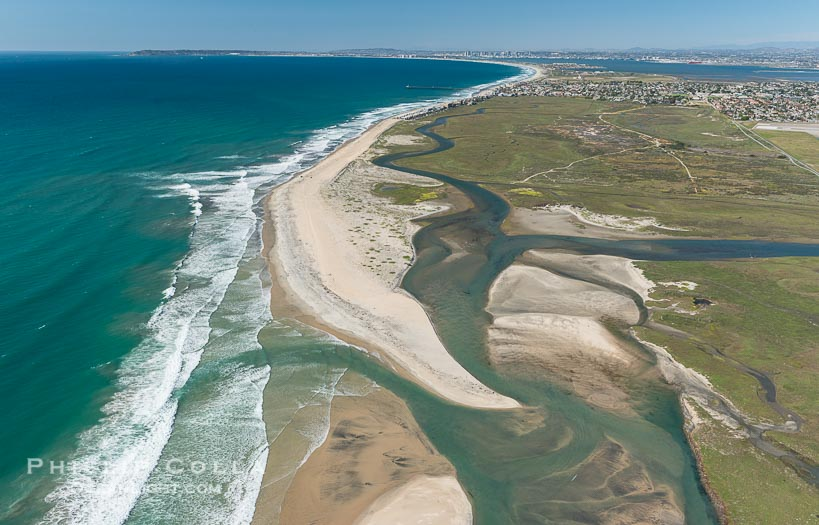 Aerial Photo of Tijuana River Mouth SMCA